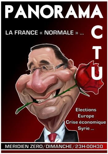 Hollande, crise européenne, élections législatives, Syrie