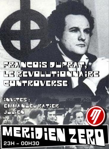 françois duprat, barbouze, jeune nation, occident, ordre nouveau, nationalisme révolutionnaire, congo